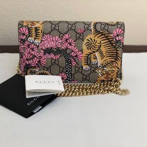 Gucci Bengal Wallet Gg Supreme CrossBody🌸🐯